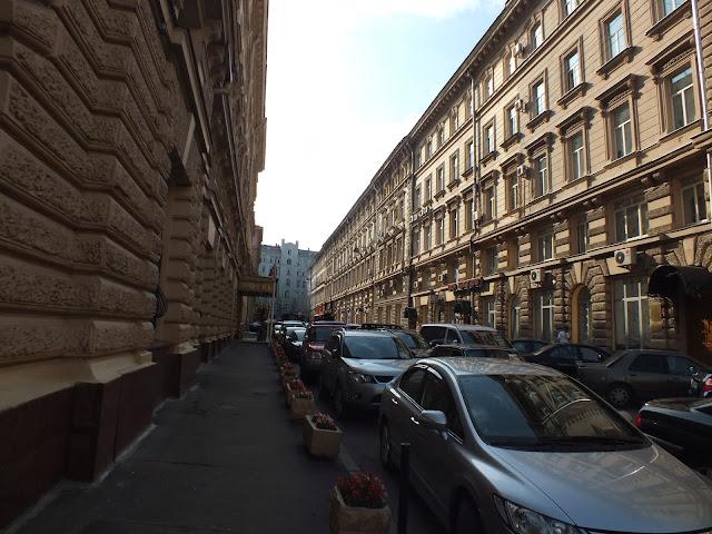 Edificios en Moscú