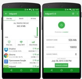 Adguard apk Premium to Block and remove Ads without Root