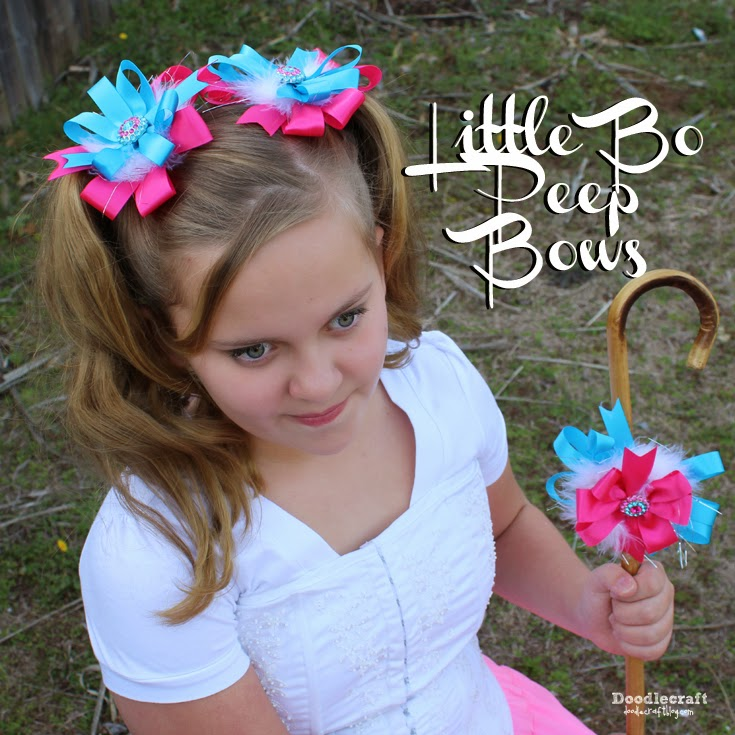 http://www.doodlecraftblog.com/2015/09/little-bo-peep-pigtail-bows.html