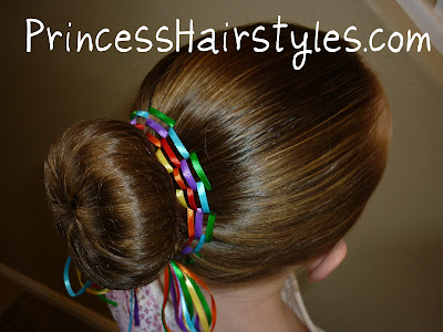 hairstyle for dance