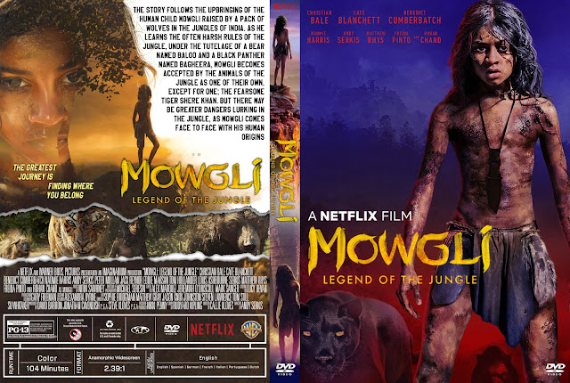Mowgli Legend of the Jungle DVD