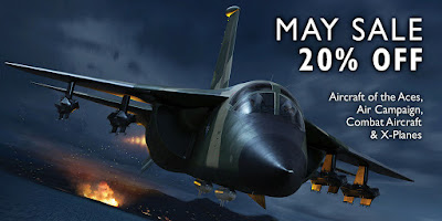 20% off Aircraft of the Aces, Air Campaign, Combat Aircraft & X-Planes!