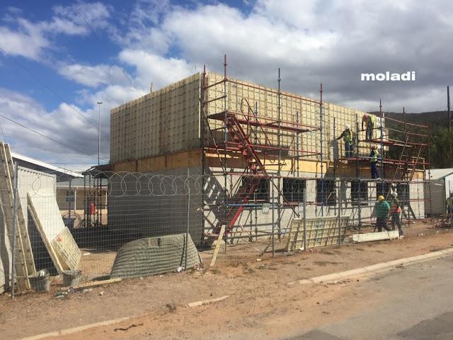 moladi Plastic formwork - Double storey classrooms
