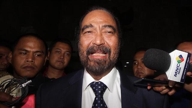 Surya Paloh Berterima Kasih ke Ma'aruf Amin soal Sukmawati