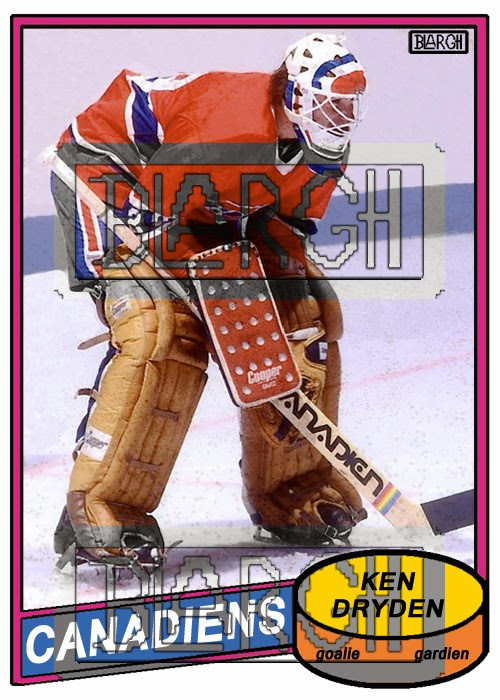 The Cardboard And Me 1980 81 Opc Ken Dryden