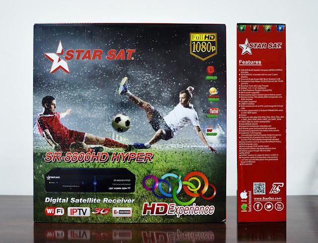 nouveau Mise a jour STARSAT SR-8800HD HYPER V2.11 27/08/17