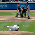 CC Sabathia falls off mound for balk vs Orioles (Video)