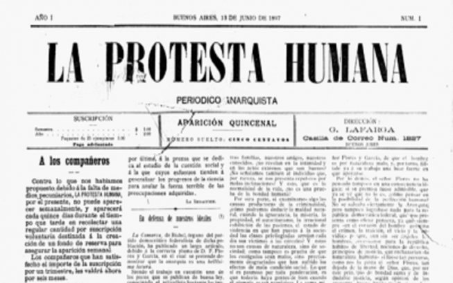 Bandera roja la protesta humana - Albaniles en montevideo ...