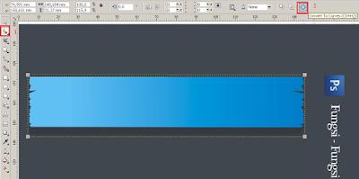 convert to curves, Cara Membuat Desain Cover Buku dengan CorelDRAW X4