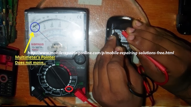 Mobile repair short circuit repair