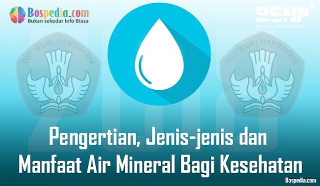 apakah Anda tahu pengertian mineral yang sesungguhnya Pengertian, Jenis-jenis dan Manfaat Air Mineral Bagi Kesehatan