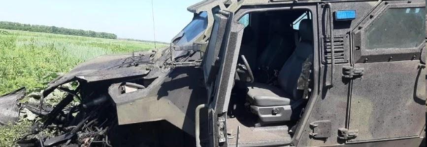 На Донбасі підірвався Спартан – 10 військових травмовано