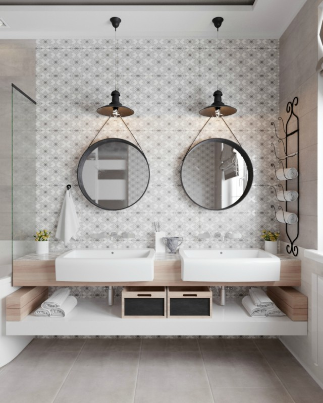 Cómo conseguir un baño de revista sin arruinarte