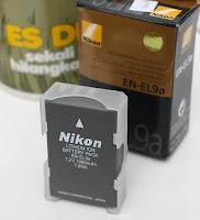 Baterai Kamera Nikon EN-EL9A