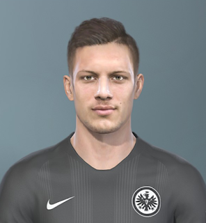 PES 2019 Faces Luka Jović by Sofyan Andri