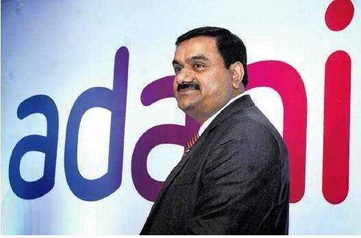 adani bussiness stock market news