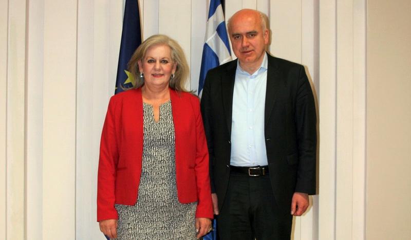 Η Ελένη Δημούδη νέα Πρόεδρος του Περιφερειακού Συμβουλίου ΑΜ-Θ και ο Αλέξανδρος Ιωσηφίδης νέος Αντιπεριφερειάρχης Ανάπτυξης