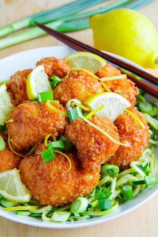 recipe: crispy honey lemon chicken [37]