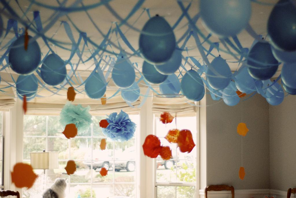 Decoraciones de globos sin usar helio - Decoracion party ...