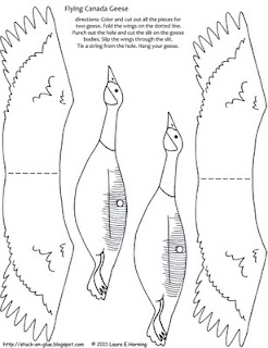 geese flying south coloring pages - photo#24