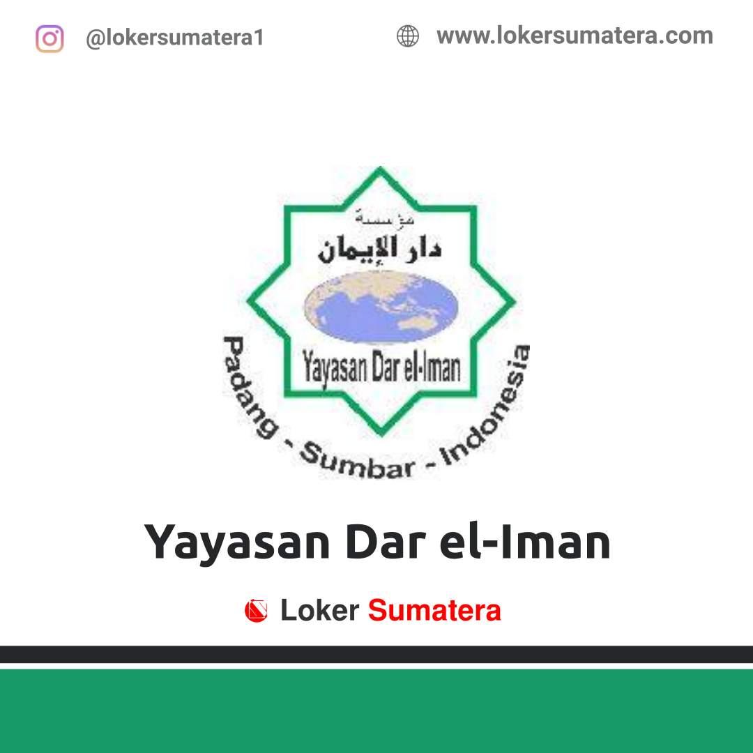Lowongan Kerja Padang: Yayasan Dar el-Iman September 2020