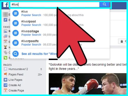 how to watch facebook live on desktop