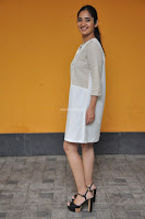 Radhika Cute Young New Actress in White Long Transparent Kurta ~  Exclusive Celebrities Galleries 083.JPG