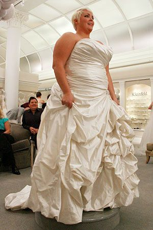 Pear Shape Full Figure Plus Size Bridal Gowns No Matter However Fat They Are Still Brides Should Be Glowing On Special Day