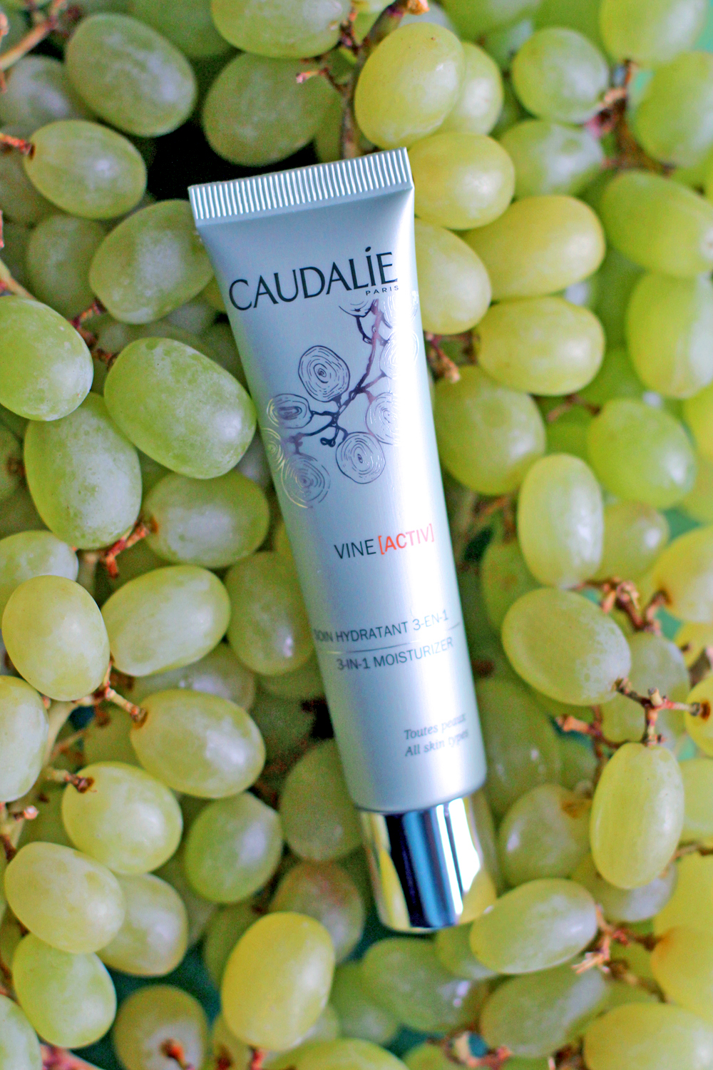 Caudalie Vine Active 3 in 1 Moisturizer - UK beauty blog