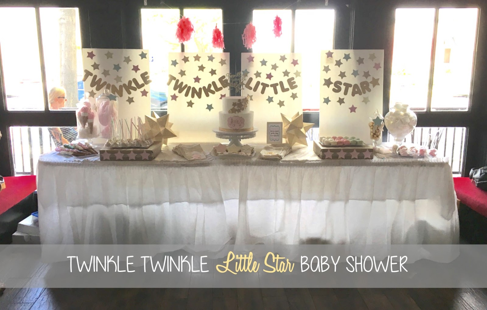 domesticated diva twinkle twinkle little star baby shower