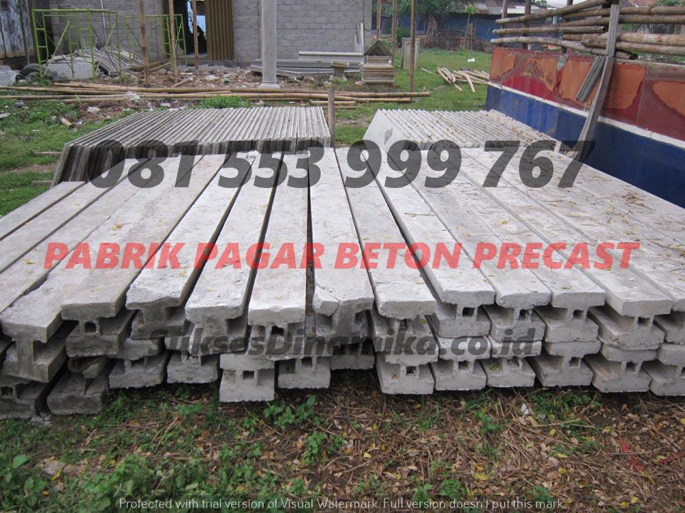 Harga Pagar Beton Jadi Madura, Fungsi Pagar Panel Beton
