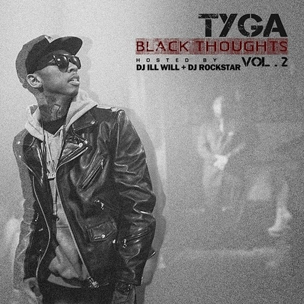 Tyga - Black Thoughts 2  Cover