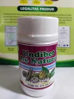 OBAT KAPSUL UNDIBET DE NATURE