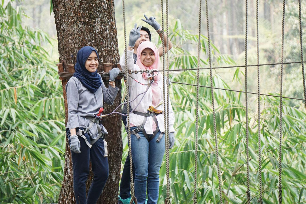 Bandung Treetop Adventure Park