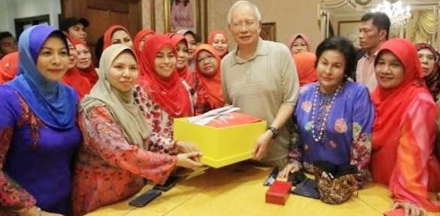Najib Bebas, Uang Jaminan Dibayarin Pendukungnya