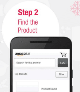 amazon app treasure hunt trick 2 find the product all clue answers