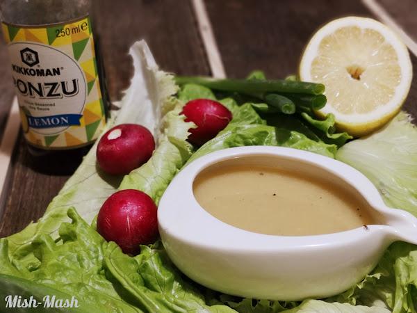 Дресинг за салата със соев сос