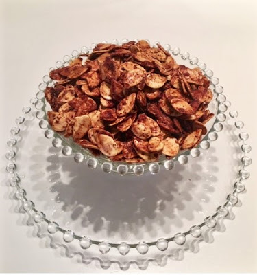 cinnamon roasted pumpkin seeds