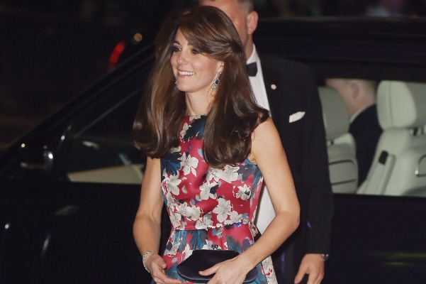 Kate Middleton at a Charity Gala dinner of 100 Women in Hedge Fund