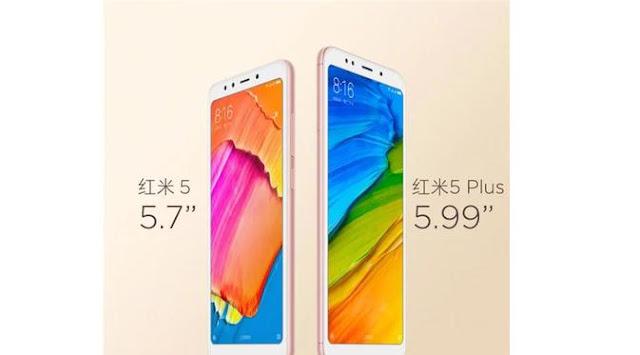 Xiaomi Rilis Redmi 5 dan 5 Plus
