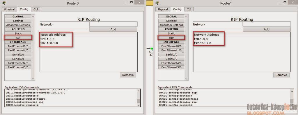 Simulasi jaringan dengan Router DHCP dan Access Point di Packet Tracer