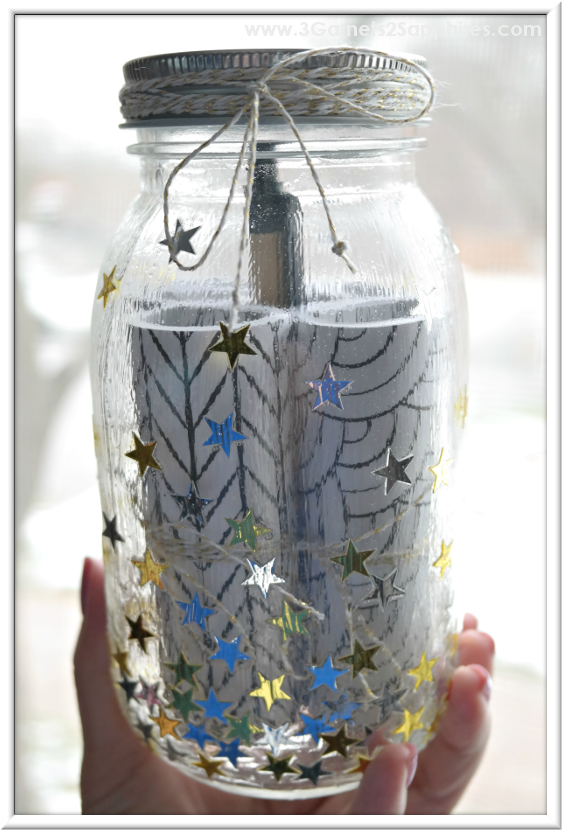 DIY 'A Year of Smiles' Mason Jar Gift Idea  |  3 Garnets & 2 Sapphires