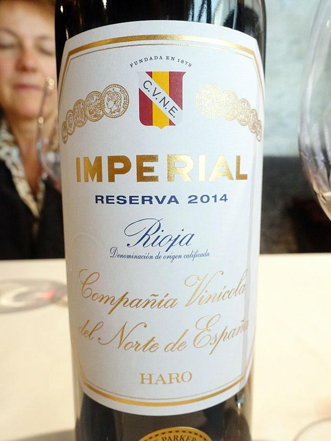 CVNE Imperial Reserva 2014 (92 pts)