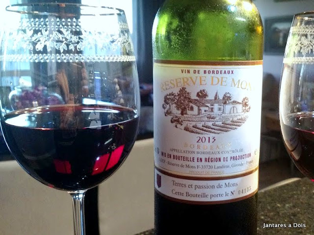 Bordeaux Reserve de Mons 2013