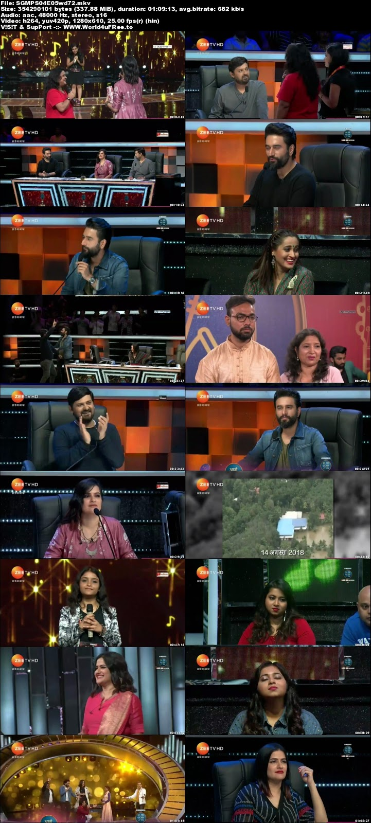 Sa Re Ga Ma Pa 2018 S04 Episode 05 720p HDTV 300Mb x264 world4ufree.vip tv show Sa Re Ga Ma Pa 2018 S04 2018 hindi Zee tv show compressed small size free download or watch online at world4ufree.vip