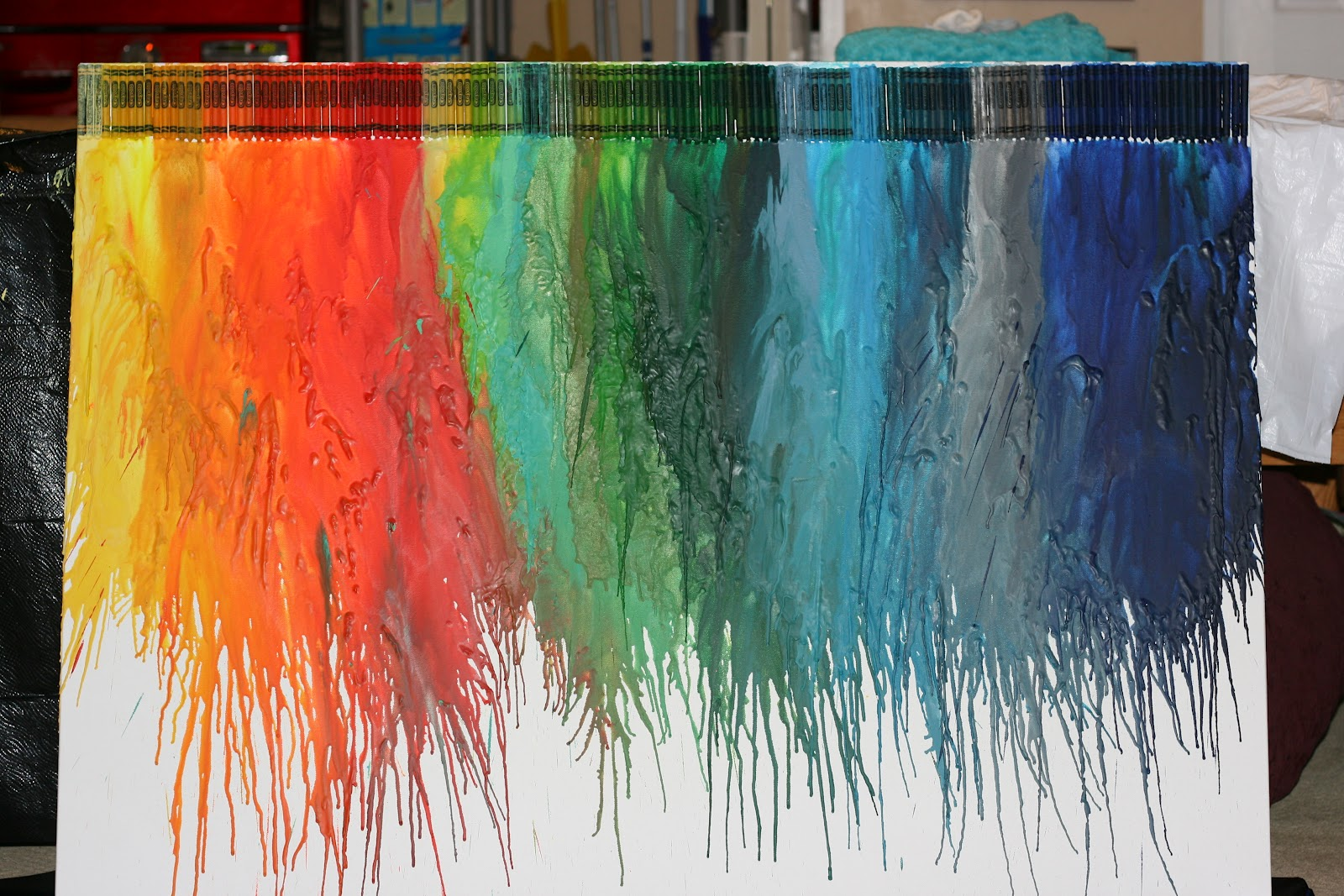 Wax Crayon Wallpaper   wallpaper