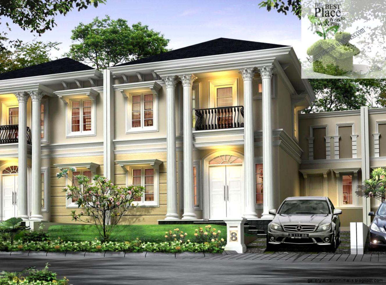 60 Desain Rumah Orang Kaya Terbaru | Parkiran Desain