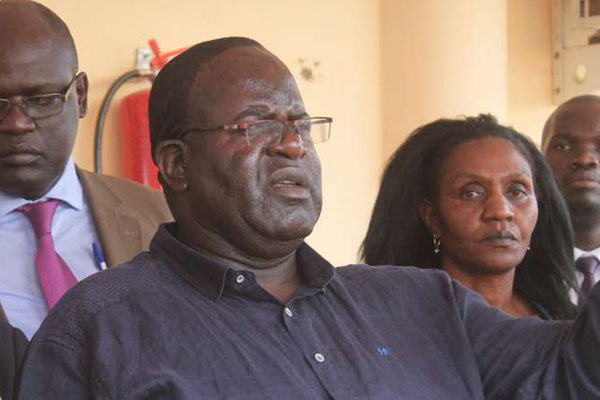 Cyprian Awiti Back In Office To Finish What He Started