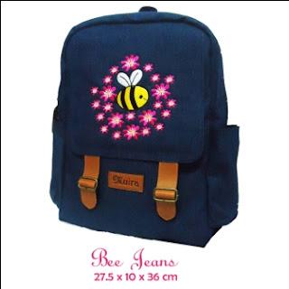 tas bahan jeans, grosir tas sekolah, produsen tas