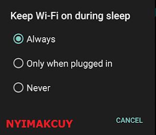 Wifi Sering Putus
